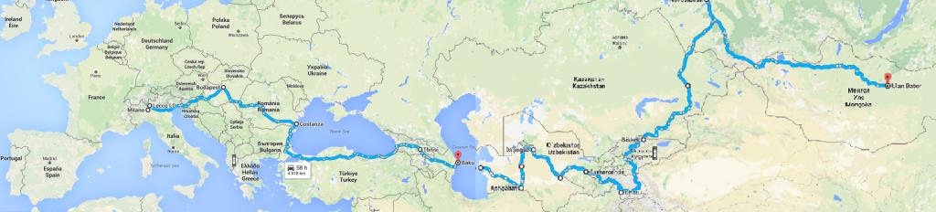 itinerario genghis panda