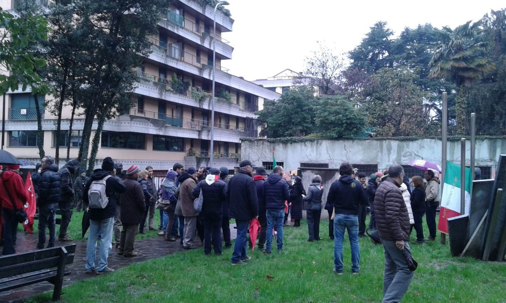manifestazione anpi e sindacati