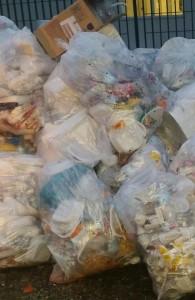 spazzatura bione tendopoli 2