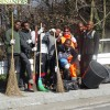 migranti artigianelli pulizia strade 11