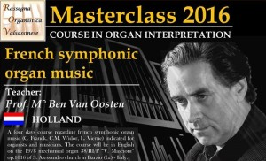rassegna organistica MASTER 2016
