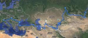 tragitto mongol rally