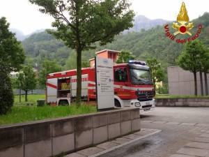 vigili del fuoco ospedale