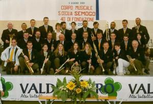 BANDA RISVEGLIO BALLABIO 2001