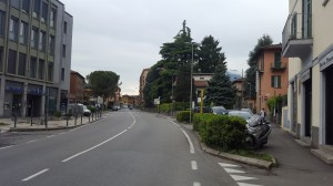 Corso Emanuele Filiberto, zona banca, Maggianico, 2016