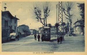 Corso Emanuele Filiberto, zona banca, Maggianico, anni '20