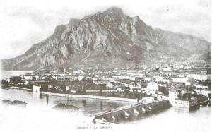Lecco e il San Martino da pian Sciresa, 1900