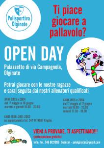 openday2016 PALLAVOLO OLGINATE