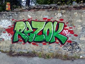 writers vandali maggianico 4