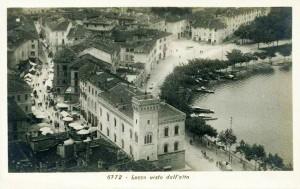 Piazza XX settembre e Palazzo delle Paure, 1920