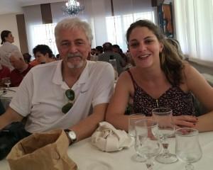 Uici ciechi lecco - elisa lottici con il padre Emanuele