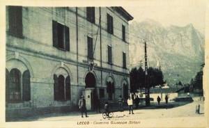 Caserma Giuseppe Sirtori, Lecco, 1923