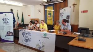 Da sinistra: Stefania di Vito, Simone Nuglio, Anna Mazzoleni, Costanza Panella e Alessio Dossi.