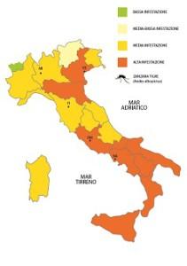 Mappa zanzare Luglio