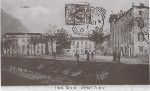 Piazza Mazzini, Lecco, 1901