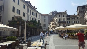 Piazza XX Settembre, Lecco, 2016