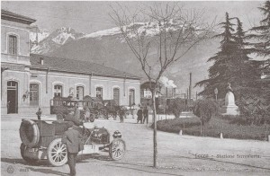 Stazione di Lecco, 1909