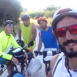 ciclisti rugbisti lecce