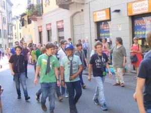 coro zelioli flash mob zelioli 2