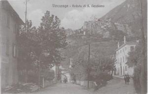 Centro di Vercurago, Stradone, 1920