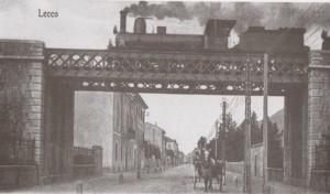Cavalcavia ferroviario su Corso Vittorio Emanuele II, Lecco, 1904