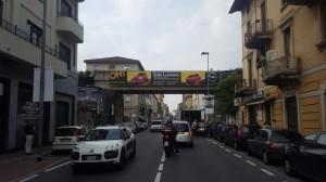 Cavalcavia ferroviario su Corso Martiri per la Libertà, Lecco, 2016
