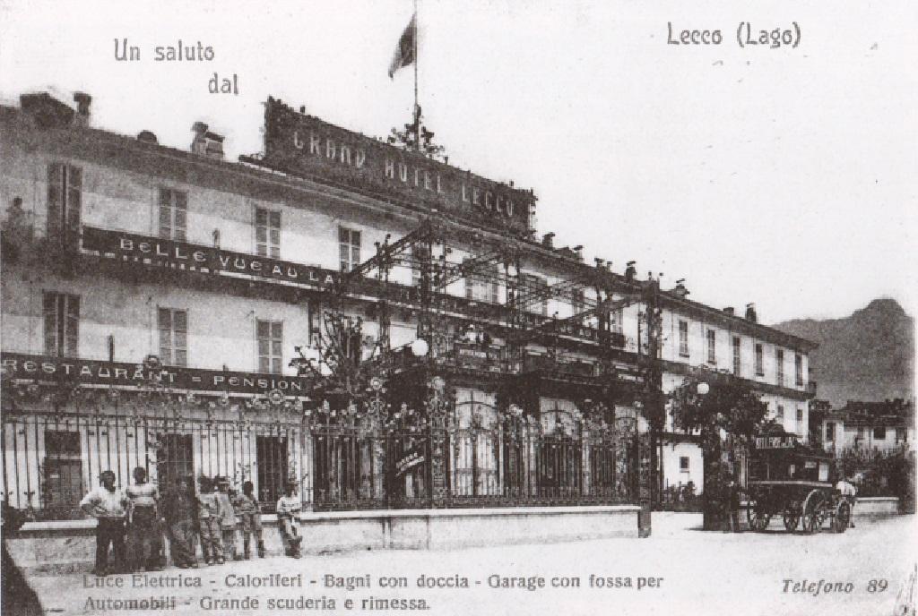 Grand Hotel Lecco, 1903