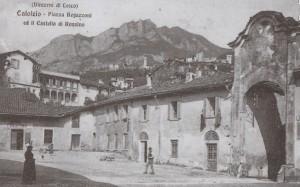 Piazza Regazzoni, Calolziocorte, 1914