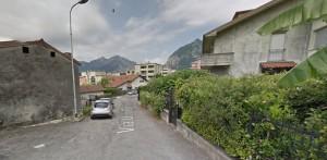 Via Ugo Bartesaghi vista dall'imboccatura sita in via Cesura