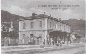 Stazione ferroviaria di Calolziocorte - Olginate, 1909