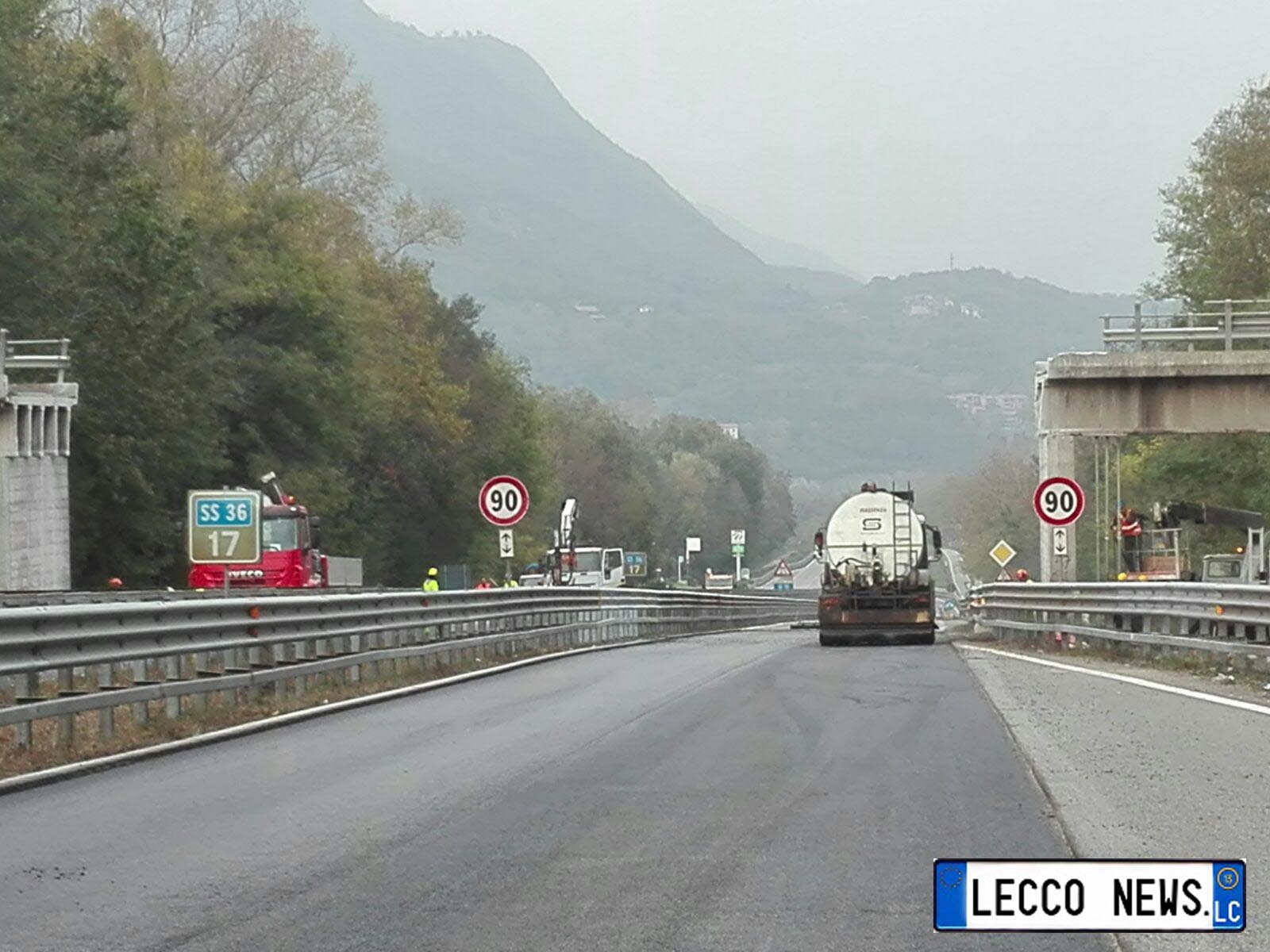 ANNONE/CONTO ALLA ROVESCIA PER LA RIAPERTURA DELLA SS36   Lecco News Notizie  dell'ultima ora di Lecco, lago di Como, Resegone, Valsassina, Brianza.  Eventi, traffico