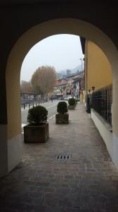Lungolago di Malgrate visto dal portico della filanda Stabilini, 2016