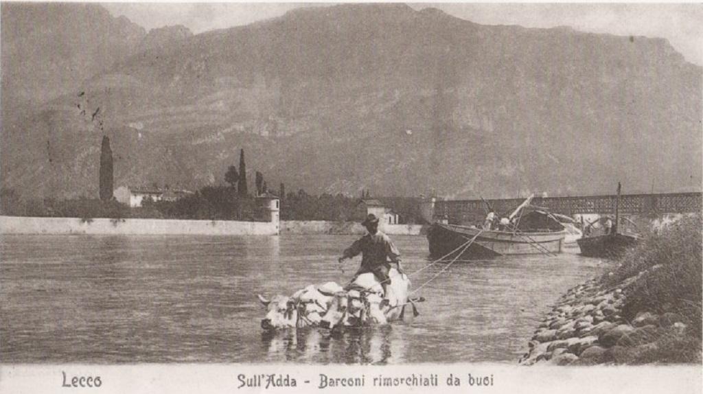 Riva dell'Adda e Isola Viscontea, Pescate, 1902