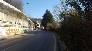 Uscita da Lecco ed ingresso di Vercurago, 2016