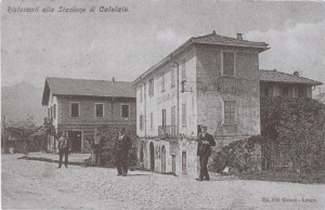 Ristoranti della Stazione, Calolziocorte, 1905