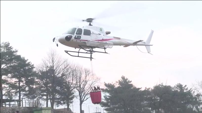 Elicottero Lecco : Meteo vento forte e secco domani giornata critica per gli