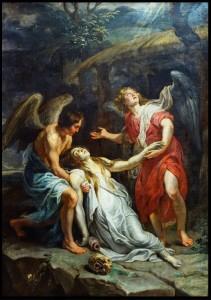 Peter Paul Rubens, Maddalena in estasi, 1619
