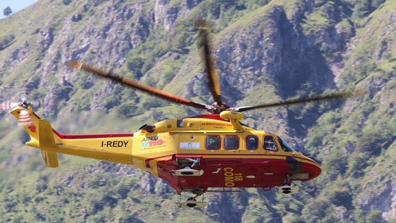 Elicottero Lecco : Breaking news sul resegone elicottero in azione soccorsa