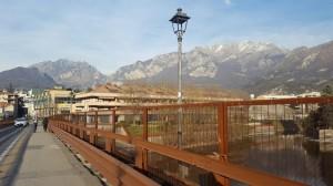 La sponda lecchese vista dal ponte Azzone Visconti, Lecco, 1905