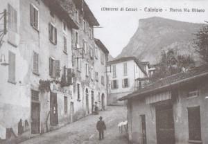 Via Milano, Calolziocorte, 1913