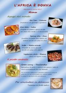 Clicca per scoprire il menu