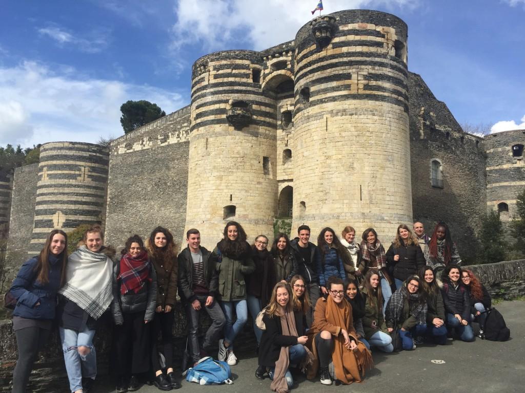 scambio liceo manzoni_Angers_marzo 2017