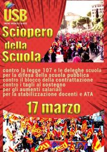 scuola_sciopero_17marzo_USB
