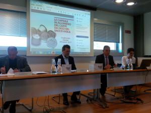Da sinistra: Bruno Crippa, Gino Schiona, Mauro Colombo, Anna Riva