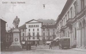 Piazza Garibaldi, Lecco, 1922