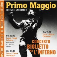 PRIMO MAGGIO LECCO manifesto