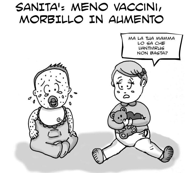 VIGNETTA MORBILLO
