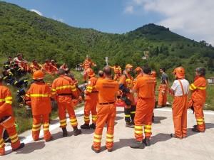 protezione civile esercitazione 1