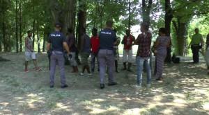 polizia parco calolziocorte