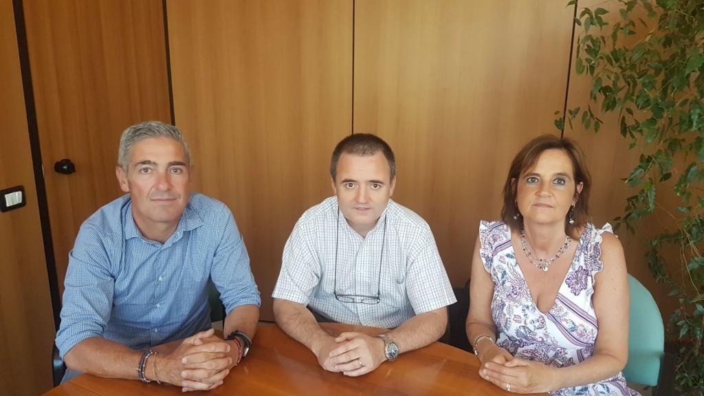 CISL Renato Frigerio, Mirco Scaccabarozzi, Franca Bodega